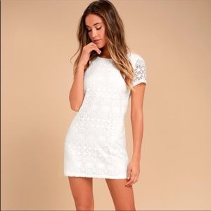 "Lulu's White ""Lace Love You For Eternity"" Dress"